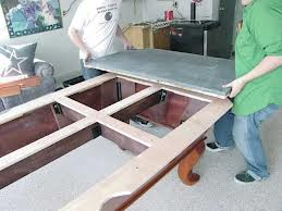 Pool table moves in Medina Ohio